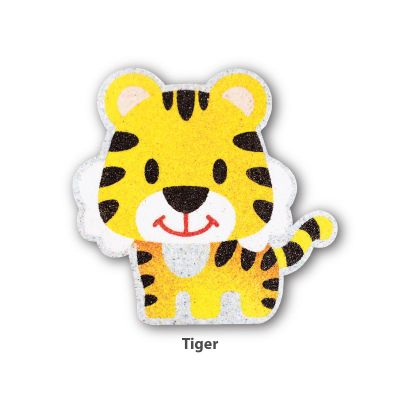 5-in-1 Sand Art Animal Board - Tiger