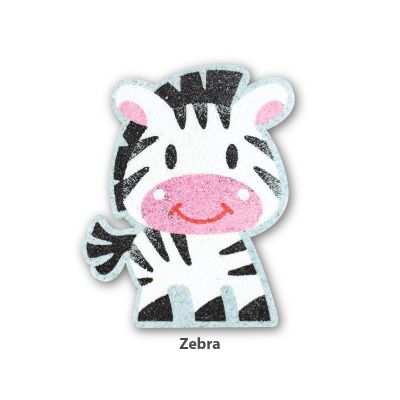 5-in-1 Sand Art Animal Board - Zebra