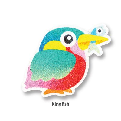 5-in-1 Sand Art Bird Board - Kingfish