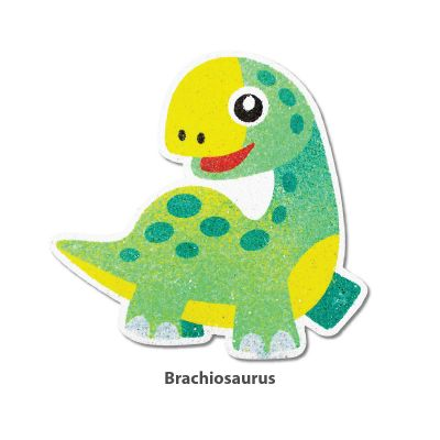 5-in-1 Sand Art Dino Board - Brachiosaurus