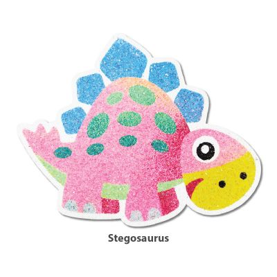 5-in-1 Sand Art Dino Board - Stegosaurus