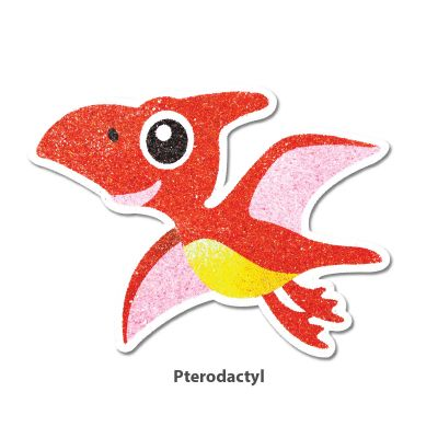 5-in-1 Sand Art Dino Board - Pterodactyl