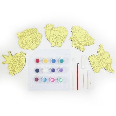 5-in-1 Sand Art Father's Day Board Kit - Contents