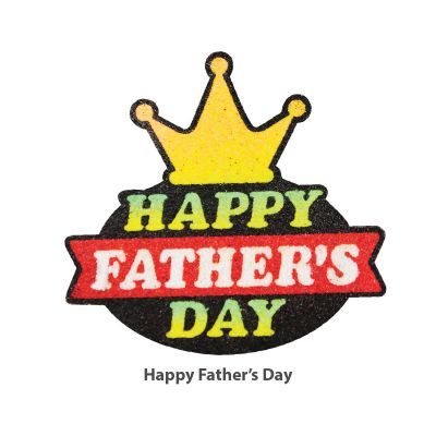5-in-1 Sand Art Father's Day Board - Happy Father's Day
