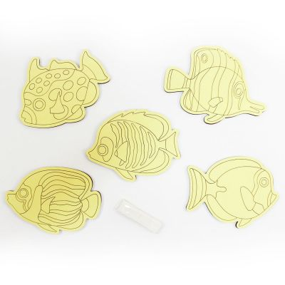 5-in-1 Sand Art Fish Board - Loose - Contents
