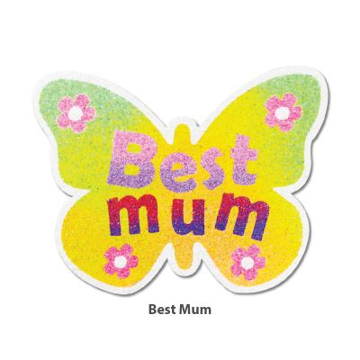 5-in-1 Sand Art Mother's Day Board - Best Mum