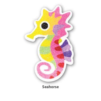 5-in-1 Sand Art Sealife Board - Seahorse