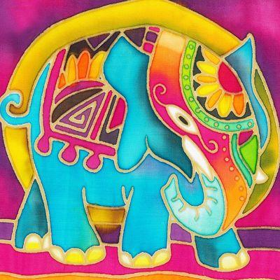 Batik Painting - Elephant