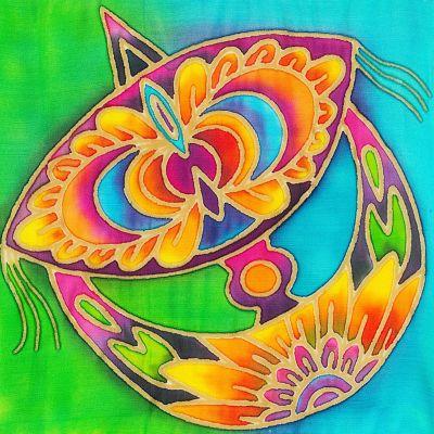 Batik Painting - Wau