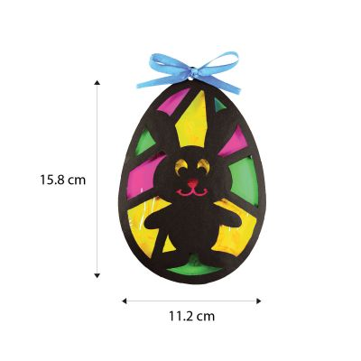 Stained Glass Easter Egg - Size