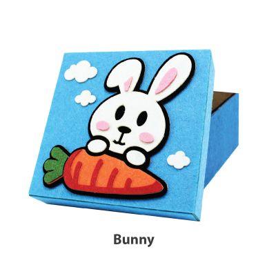 Felt Animal Gift Box - Bunny