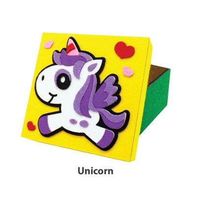 Felt Animal Gift Box - Unicorn