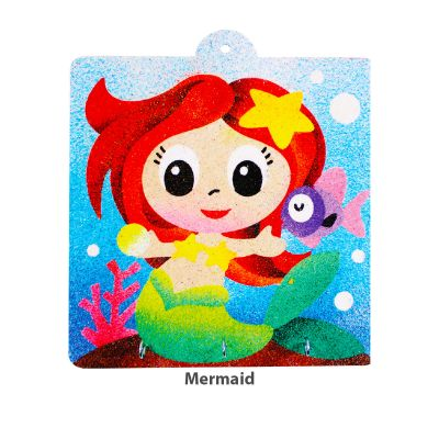 Sand Art Key Hanger Board Kit - Mermaid