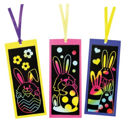 Scratch Art Easter Bookmark - Designs