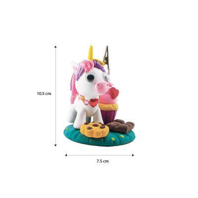 Unicorn Friends Clay Memo Holder Size