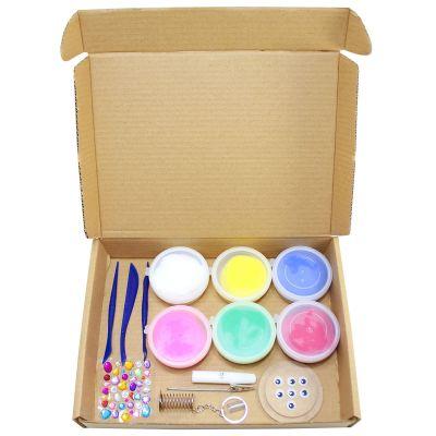 Unicorn Friends Clay Kraft Box Kit - 4-in-1 - Contents