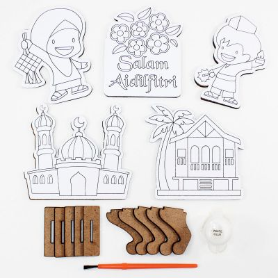 Wooden Raya Stand - Contents