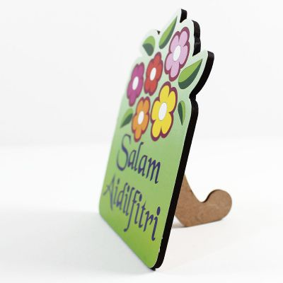 Wooden Raya Stand - SIde