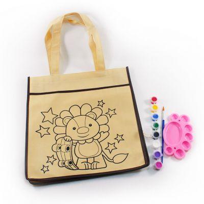 DIY Animal Tote Bag Painting Kit