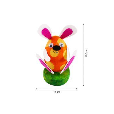Felt & Polyfoam Easter Bunny - Pack of 10