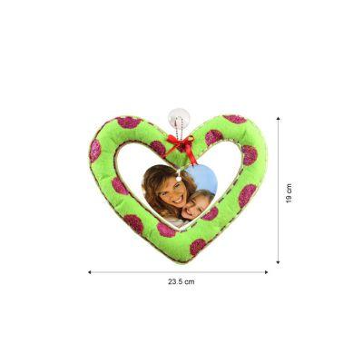 Felt Heart Shape Deco Hanger Kit