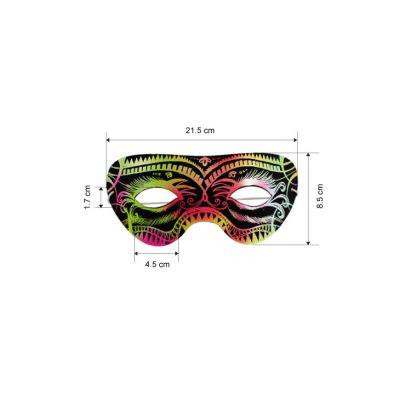 Scratch Art Fun Mask - Pack of 10