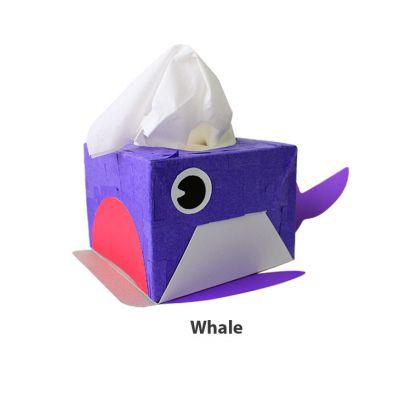 Animal Paper Tissue Box - Whale