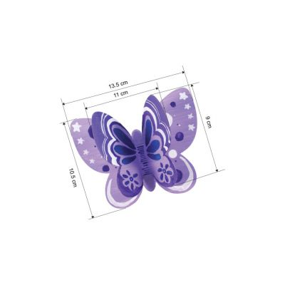 3D Butterfly Magnet Party Kit - Pack of 20