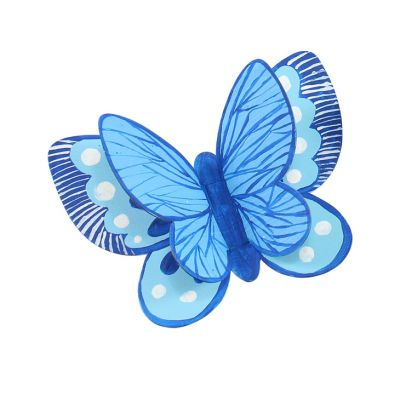 3D Butterfly Magnet - Blue Butterfly