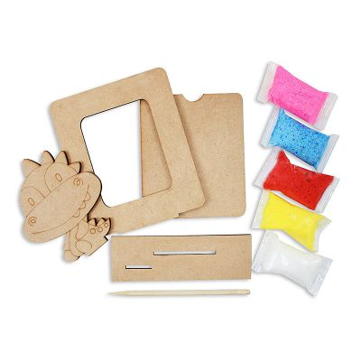 Foam Clay Photo Frame Kit - Content