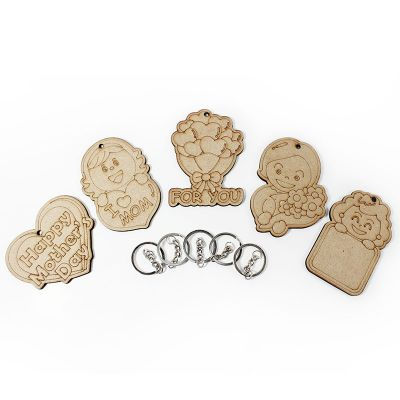 Mother's Day Keychain Pack of 5 - Content
