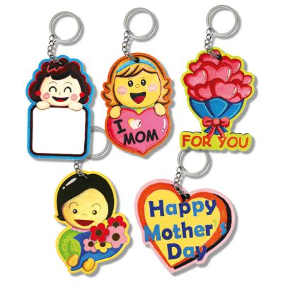Mother's Day Keychain Pack of 5