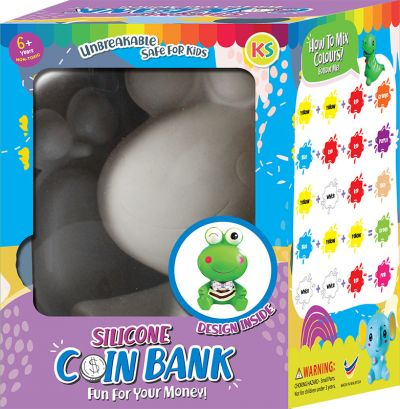 Silicone Coin Bank Painting Series C - Kit
