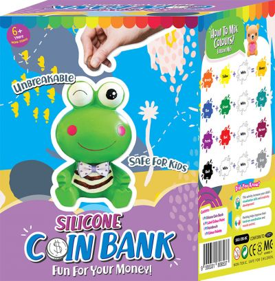 Silicone Coin Bank Painting Series C - Kit - Packaging Back