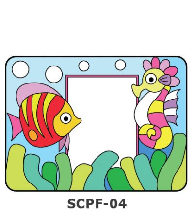 Suncatcher Photo Frame Kit - Sea Creatures