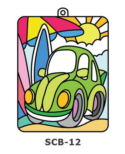 Suncatcher Board Painting Kit - Car