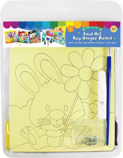 Sand Art Key Hanger Board Kit