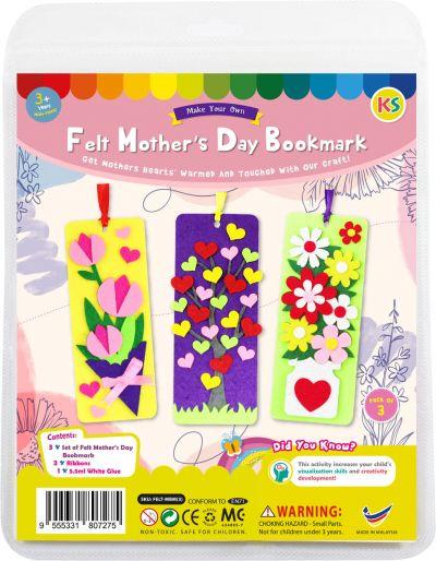 Felt Mother's Day Bookmark Kit