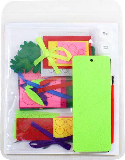 Felt Mother's Day Bookmark Kit - Packaging Back