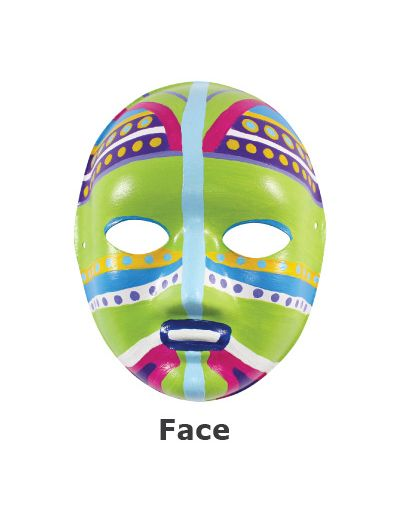 Paper Craft Mask - Face