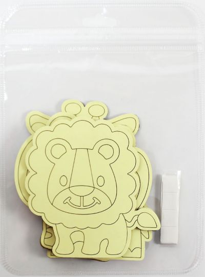5-in-1 Sand Art Animal Board -Loose