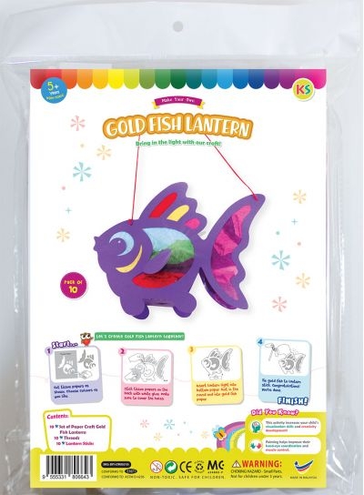 Goldfish Lantern Pack of 10 - Packaging Front
