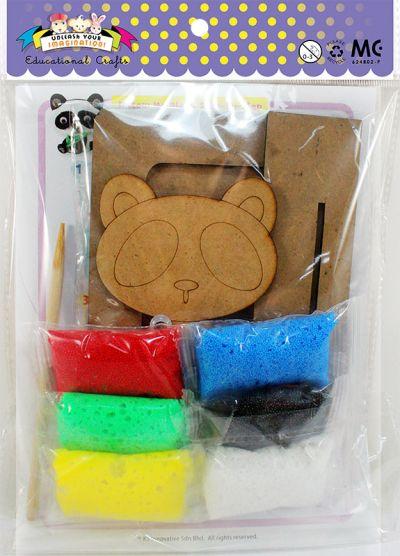 Foam Clay Photo Frame Kit - Packaging Back