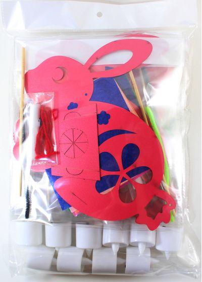 Rabbit Lantern Pack of 10 - Packaging Back