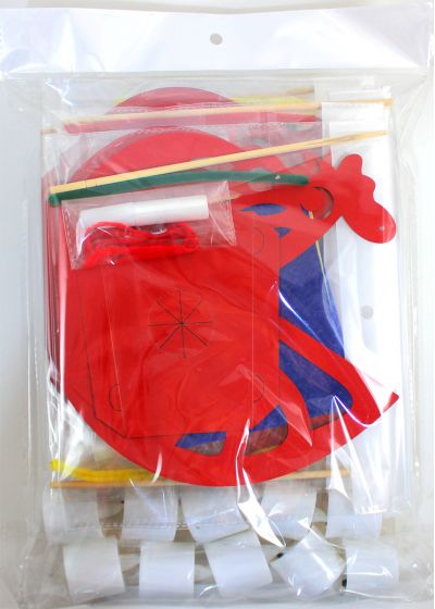 Rooster Lantern Pack of 10 - Packaging Back