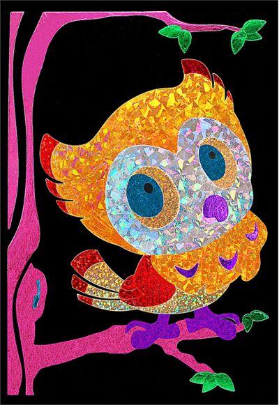 Foil Art - Owl