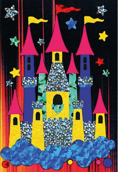 Foil Art - Castle