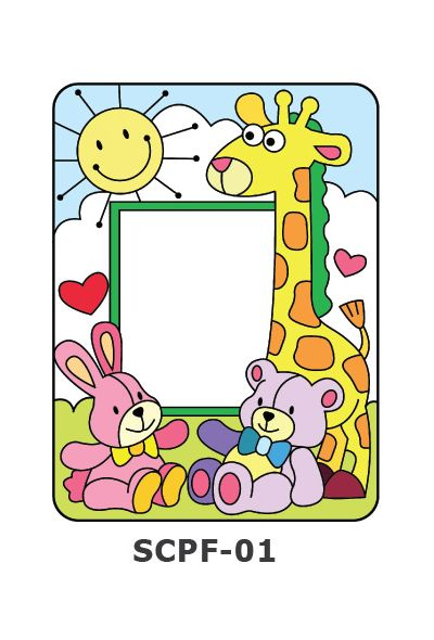 Suncatcher Photo Frame Kit - Happy Toys
