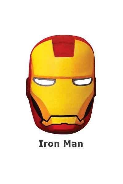 Paper Craft Mask - Iron Man