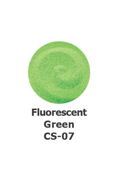 Fluorescent Green Colour Sand